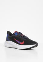 Nike - Nike zoom winflo 7 - black/chile red-racer blue