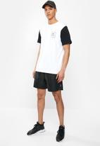 RVCA - Va all the way short sleeve tee - white & black