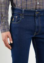 POLO - Simon straight leg jean - blue