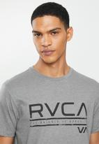 RVCA - Distress short sleeve tee - grey