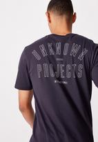 Cotton On - Tbar urban T-shirt - navy