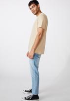 Cotton On - Tbar urban T-shirt - stone