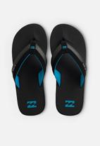 Billabong  - All day impact sandal - black & blue