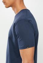 Quiksilver - Comp logo short sleeve tee - navy