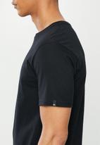 Quiksilver - Basic short sleeve T-shirt - black