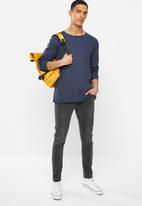 Quiksilver - Waffle long sleeve T-shirt - navy