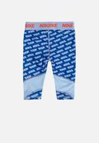 Nike - Nike girls dri fit houndstooth aop c - blue