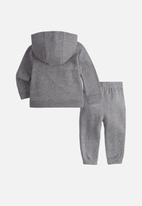 Nike - Nike boys nsw core fz track suit set - grey