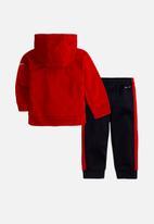 Nike - Nike boys nike block therma set - red & black