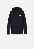 Nike - Nike boys av15 half zip hoodie - black