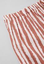 Superbalist - Girls shorts & top pj set - white & pink
