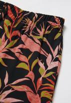 Superbalist - Girls printed pj set - black & red