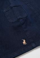 POLO - Girls Carin denim skirt - blue