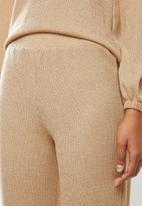 edit - Cosy knit jogger - stone