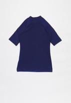 Rebel Republic - Tweens printed rash vest - blue