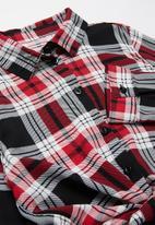 Rebel Republic - Check shirt - red & black