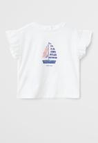 MANGO - Barco T-shirt - white