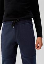 MANGO - Trousers guillem - navy