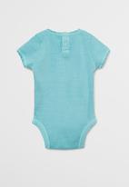 MANGO - Body claudia - turquoise