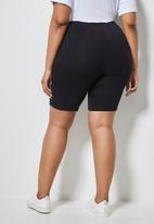 Superbalist - 2 Pack cycle shorts - black