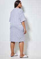 Superbalist - T-shirt dress - grey