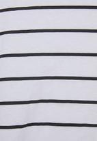 Superbalist - T-shirt dress - white & black