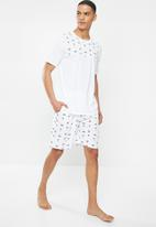 Brave Soul - Holiday sleepwear - white
