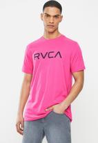 RVCA - Big Rvca short sleeve tee - pink