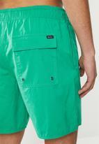 RVCA - Opposites elastic short - green
