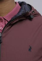 POLO - His/hers puffer jacket -wine & navy
