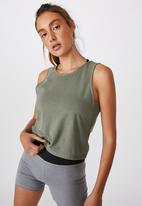 Cotton On - Lifestyle tank top -steely shadow marle