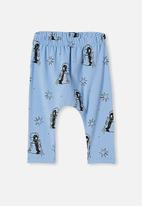 Cotton On - The legging - powder puff blue/penguin astronaut