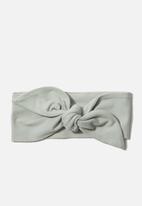 Cotton On - The tie headband - stone green