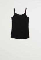MANGO - Shirt lillian - black