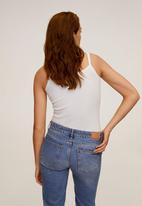 MANGO - Shirt lilian - white