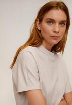 MANGO - T-shirt veri - neutral