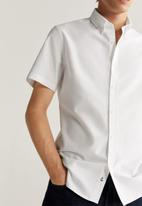MANGO - Oxfi shirt - white