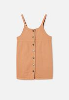 Cotton On - Willow dress - brown