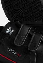 adidas Originals - Infants continental 80 sneakers - core black & scarlet