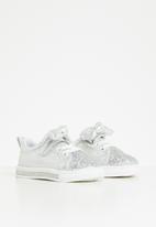 POP CANDY - Girls glitter detail sneaker - silver