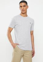 Original Penguin - Embroidered T-shirt  - grey