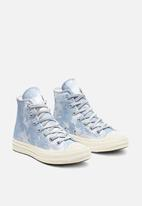 Converse - Chuck 70 hi - indigo fog / pure platinum - egret