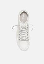 Converse - Chuck Taylor All Star Limo leather ox - white