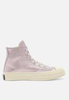 Converse - Chuck Taylor All Star 70's metallic leather hi - pink