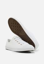 Converse - Chuck Taylor All Star Dainty - white / egret - light gold