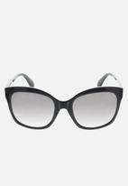 adidas Originals Sun - Adidas  or0012 01b sunglasses - shiny black/gradient smoke