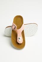 POP CANDY - Girls glitter sandal - pink