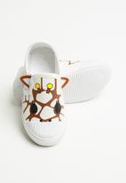 POP CANDY - Giraffe slip on - white