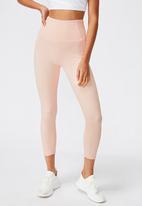 Cotton On - Rib 7/8 tight - pink