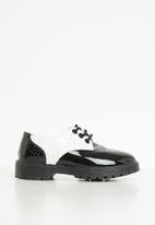 POP CANDY - Brogues - black & white